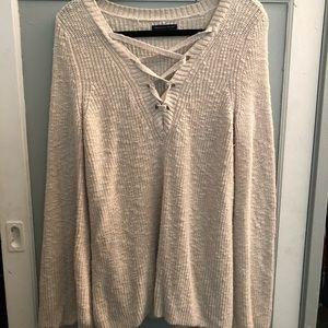 Oversized Cream Sweater